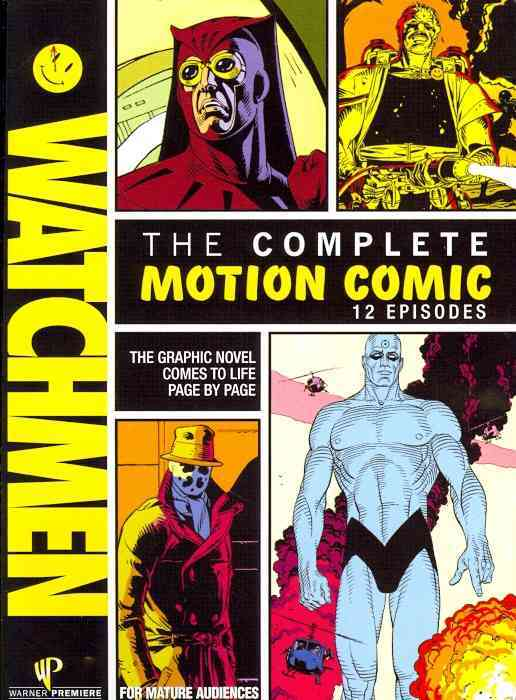 WATCHMEN:MOTION COMICS BY MOORE,ALAN (DVD)
