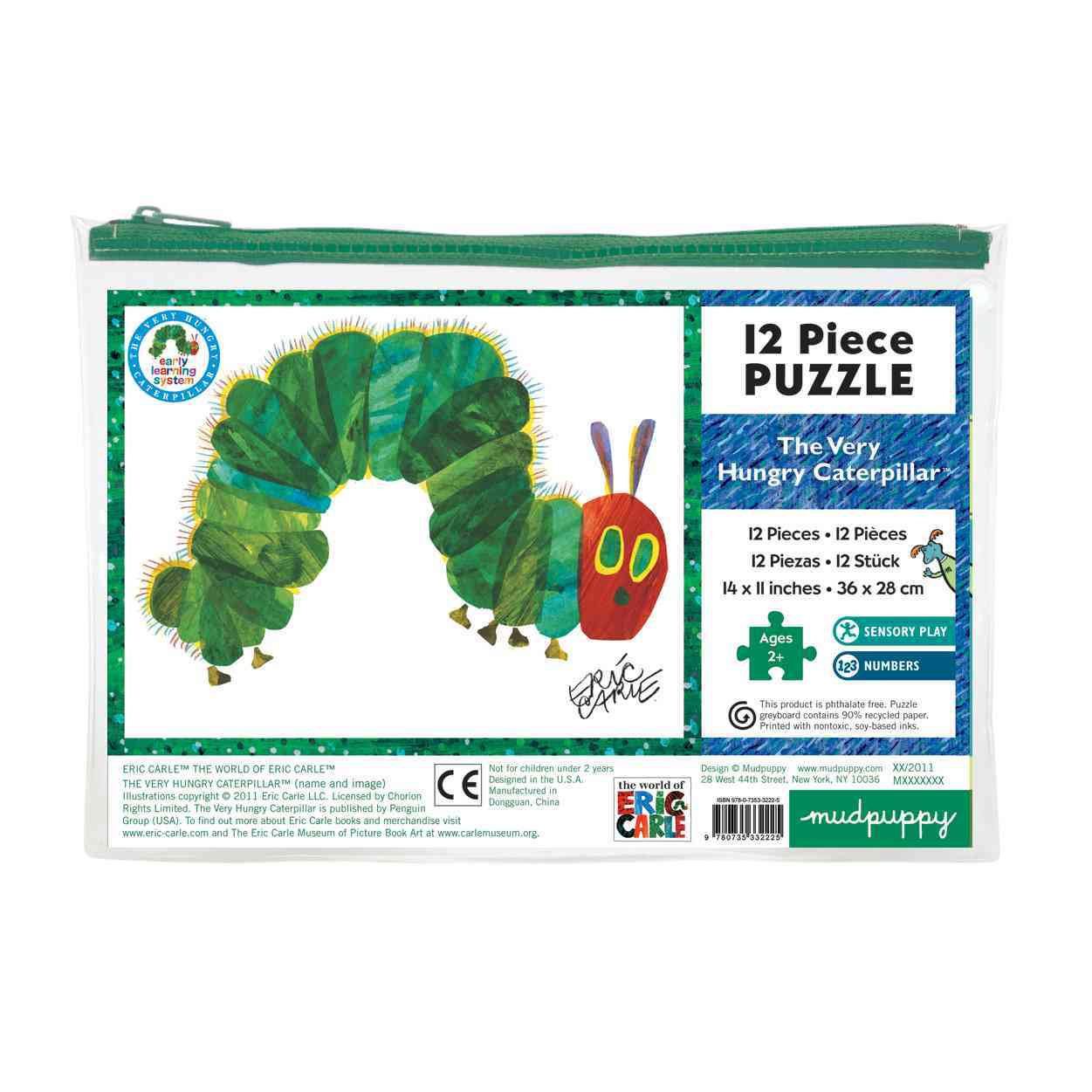 Eric Carle Caterpillar Pouch Puzzle By Carle, Eric (ILT)